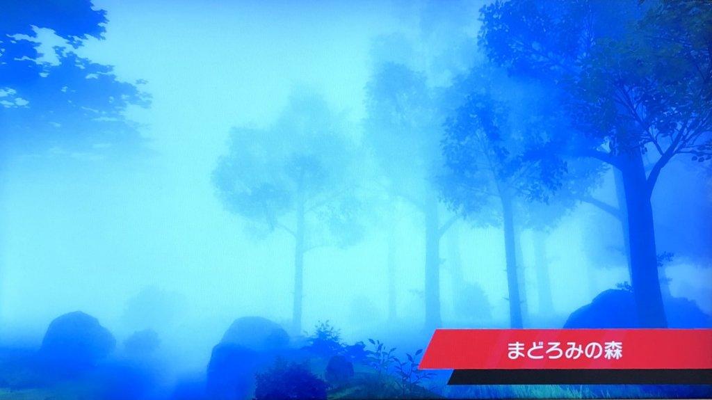 ポケモンソードシールド - まどろみの森