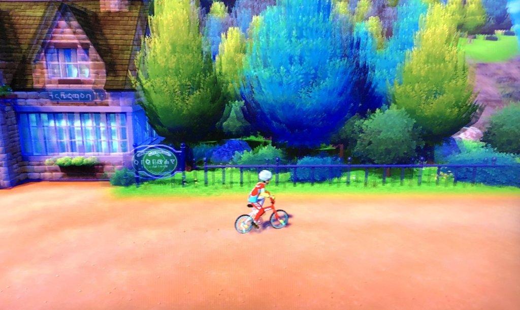 ポケモンソードシールド - ロトム自転車