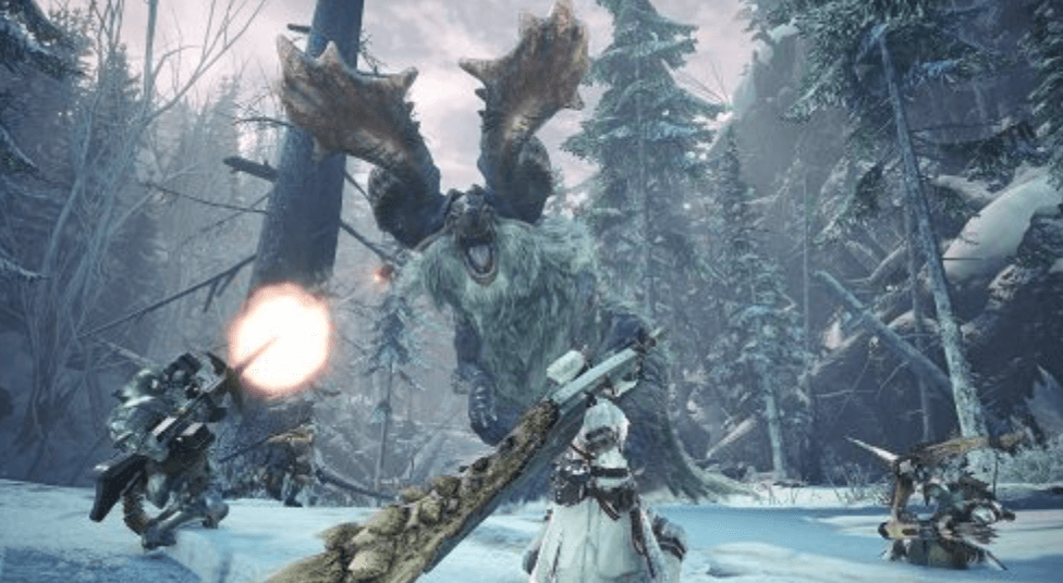 monster hunter ice borne