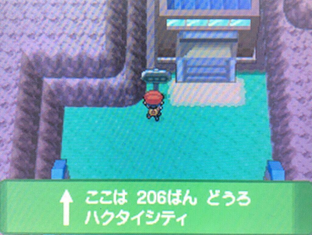 ポケモンダイヤモンド・パール - 206番道路